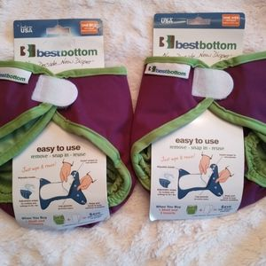 Bestbottom reusable diaper covers, new